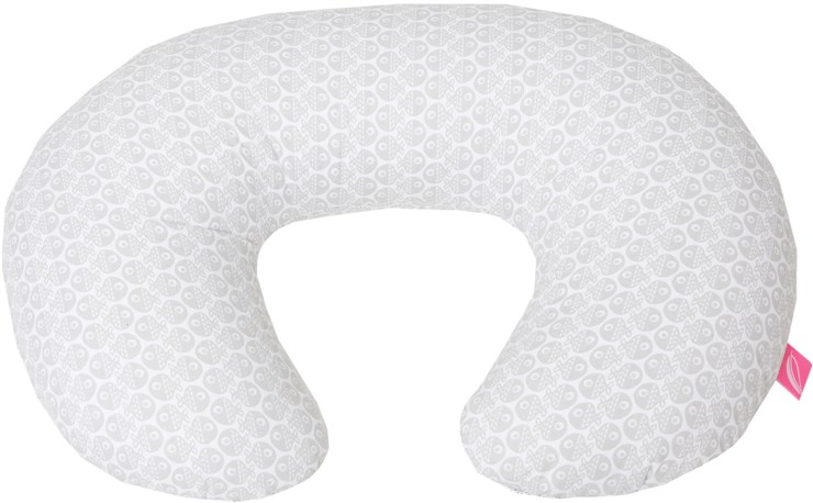Motherhood Nursing Support Pillow Grey Fishes szoptatós párna - Brendon - 67515