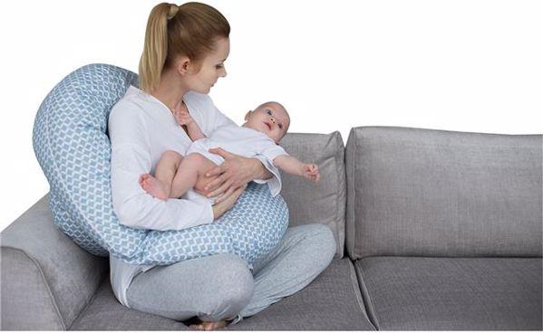 Motherhood Sleepy-C Maternity Support Pillow Classics Blue kismama pihenőpárna - Brendon - 67582