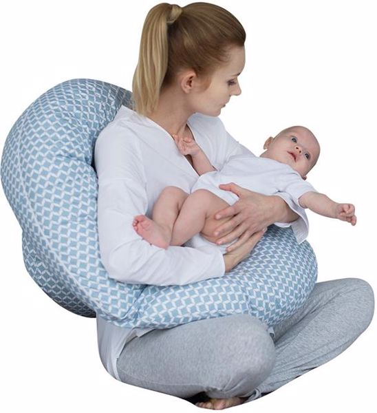 Motherhood Sleepy-C Maternity Support Pillow Classics Blue kismama pihenőpárna - Brendon - 67585