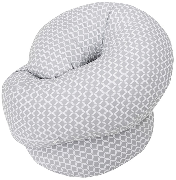 Motherhood Sleepy-C Maternity Support Pillow Classics Grey kismama pihenőpárna - Brendon - 67588