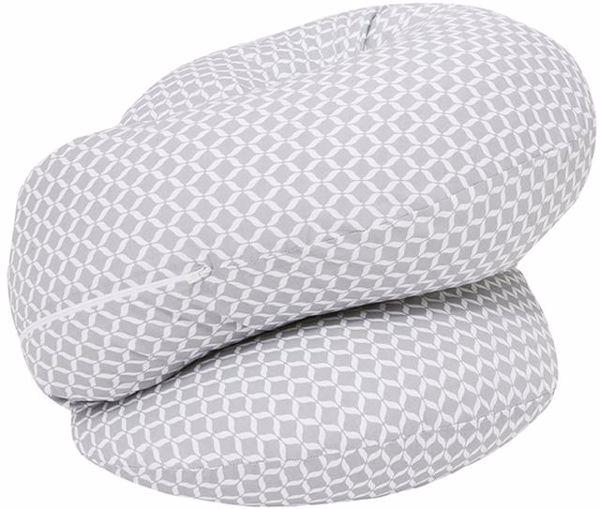 Motherhood Sleepy-C Maternity Support Pillow Classics Grey kismama pihenőpárna - Brendon - 67589