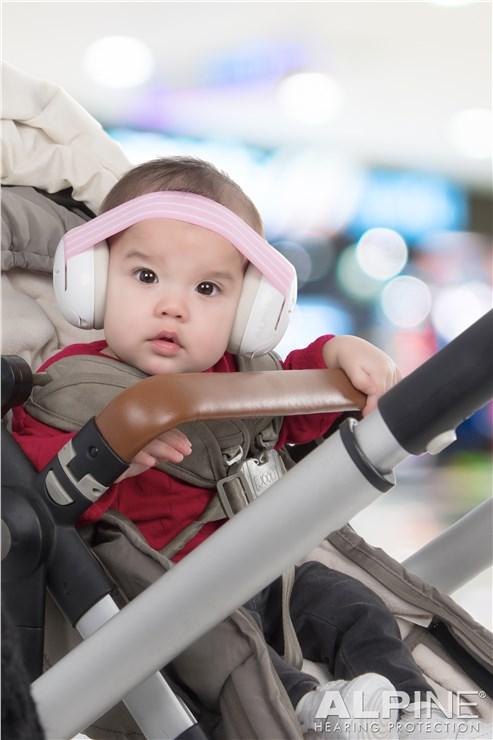 Alpine Muffy Baby Pink hallásvédő - Brendon - 68087