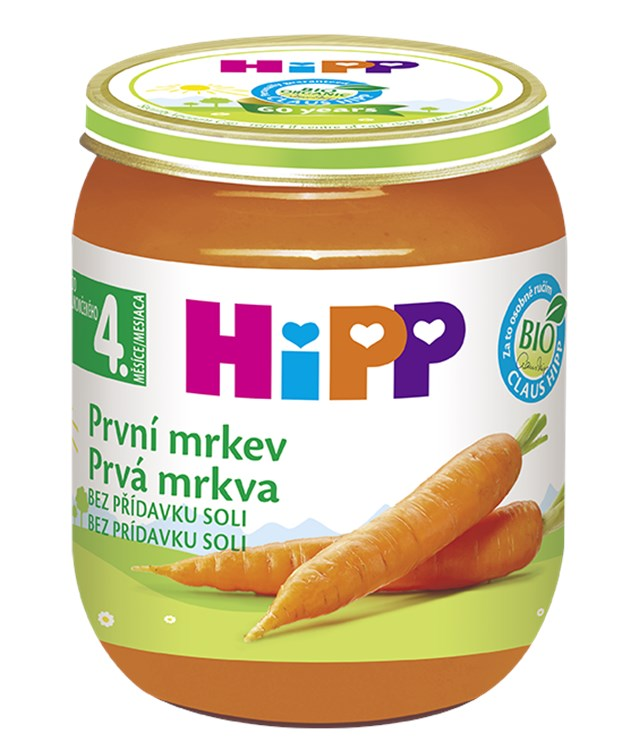Hipp Baby Carrot 125g  detská strava - Brendon - 68300
