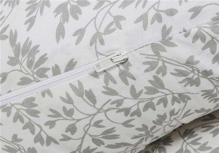 Motherhood Sleepy-C Maternity Support Pillow Grey Branches vankúš na odpočívanie pre mamičky - Brendon - 68489