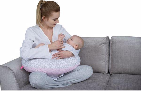 Motherhood Nursing Support Pillow Pink Trees vankúš na kojenie - Brendon - 68529