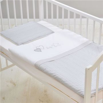 Brendon HUN-E/90*130 Grey Star posteľná bielizeň - Brendon - 69063