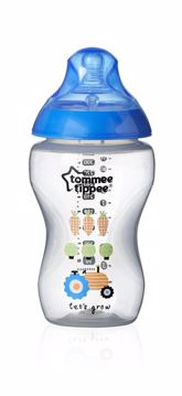 Tommee Tippee CTN 340 ml Color Boy cumlíková fľaša plastová - Brendon - 69093