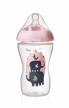 Tommee Tippee CTN Ultra Decorated 340 ml Girl cumlíková fľaša plastová - Brendon - 69268