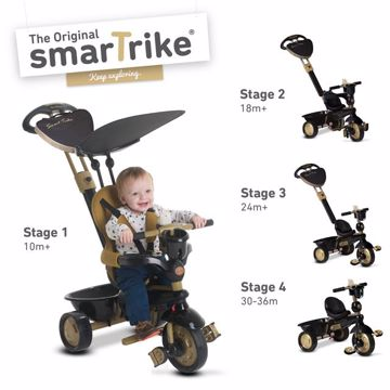 smarTrike Dream 4 in1 TS Gold / Black tricikli - Brendon - 70751