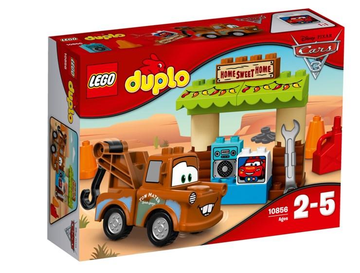 LEGO DUPLO Cars TM Mater´s Shed 10856  építőjáték - Brendon - 70876