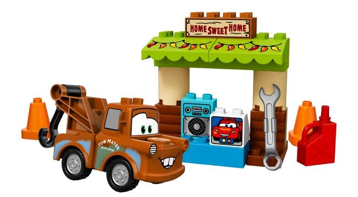 LEGO DUPLO Cars TM Mater´s Shed 10856  építőjáték - Brendon - 70877