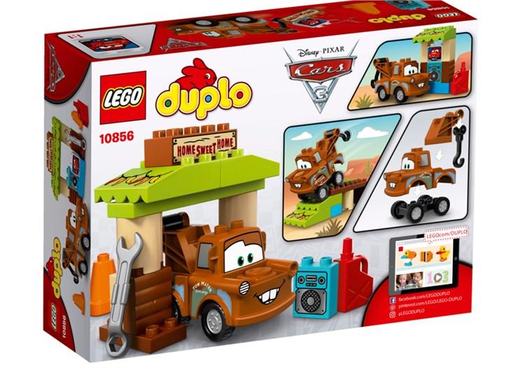 LEGO DUPLO Cars TM Mater´s Shed 10856  építőjáték - Brendon - 70879
