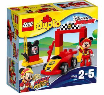 LEGO DUPLO Disney TM DUPLO Disney Mickey Racer 10843  építőjáték - Brendon - 70880