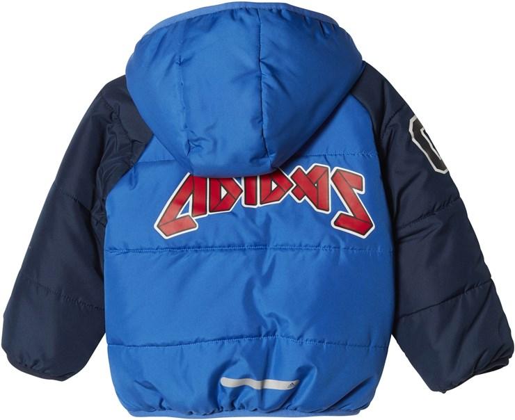 adidas CF1573 Blue-Navy kabát - Brendon - 71187