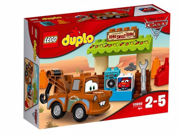LEGO DUPLO Cars TM Mater´s Shed 10856  stavebnica - Brendon - 71876