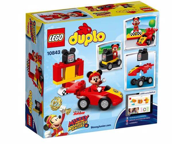 LEGO DUPLO Disney TM DUPLO Disney Mickey Racer 10843  stavebnica - Brendon - 71881