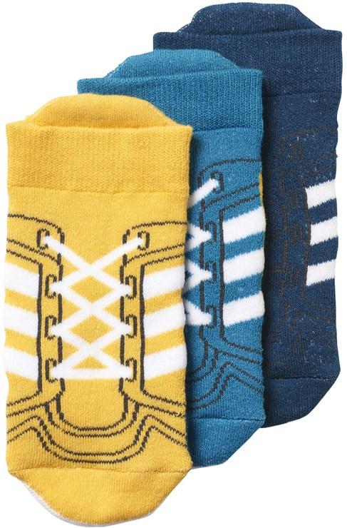 adidas CD2796/3pcs Petrol-Blue-Yellow ponožky - Brendon - 72174