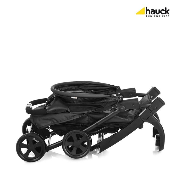 Hauck Shopper Neo II Caviar/Silver babakocsi - Brendon - 73815