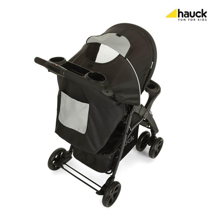 Hauck Shopper Neo II Caviar/Silver babakocsi - Brendon - 73816