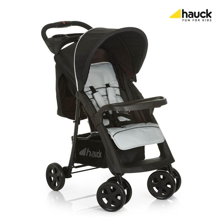 Hauck Shopper Neo II Caviar/Silver babakocsi - Brendon - 73817