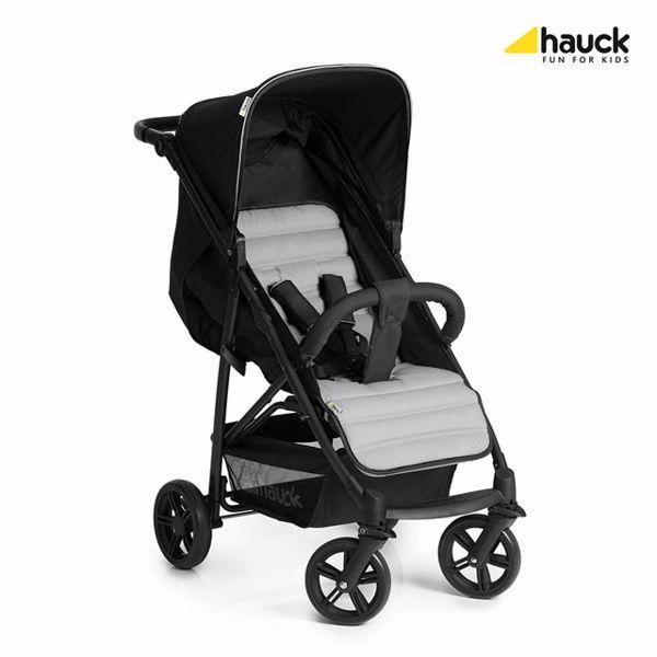 Hauck Rapid 4 Caviar/Silver detský kočík - Brendon - 74805
