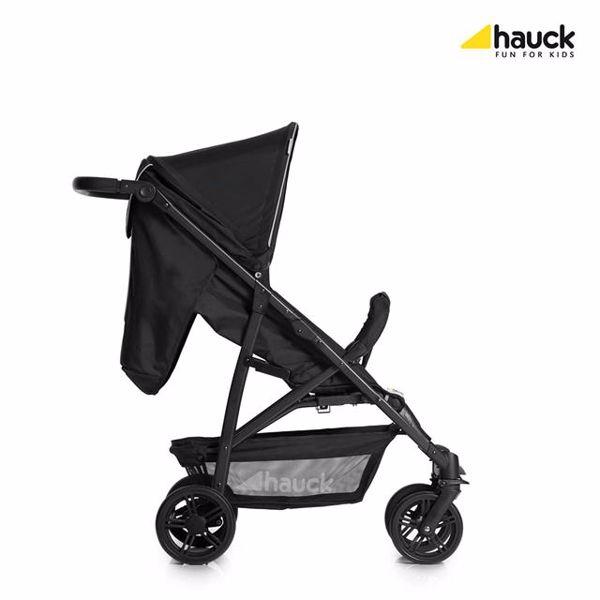 Hauck Rapid 4 Caviar/Silver detský kočík - Brendon - 74812