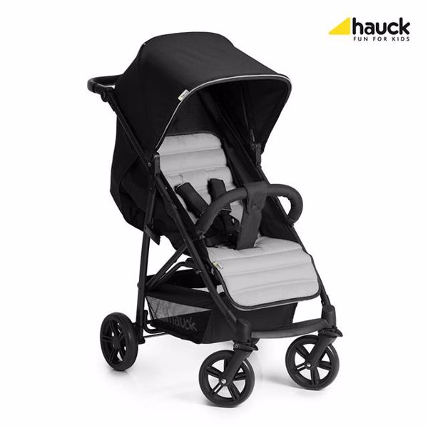 Hauck Rapid 4 Caviar/Silver detský kočík - Brendon - 74813