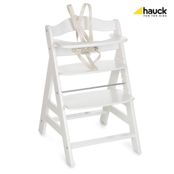 51dfac20f752 Hauck Alpha+ White drevená stolička na kŕmenie - Brendon - 75061 ...
