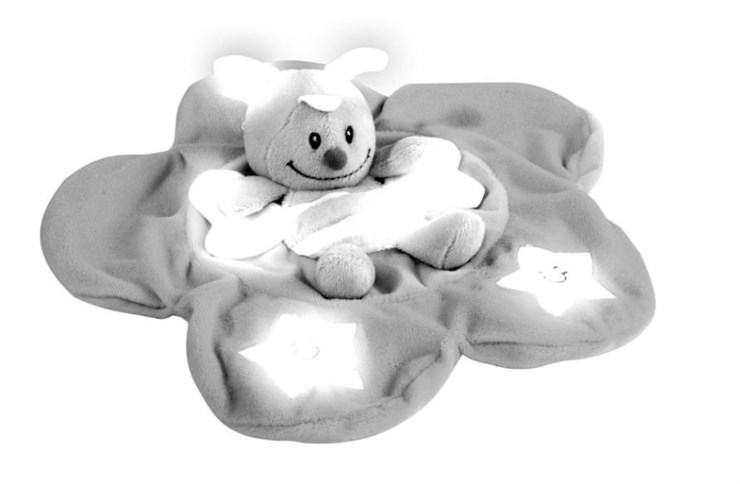 ABC GID Cuddle Friend Mixed colors szundikendő - Brendon - 76511
