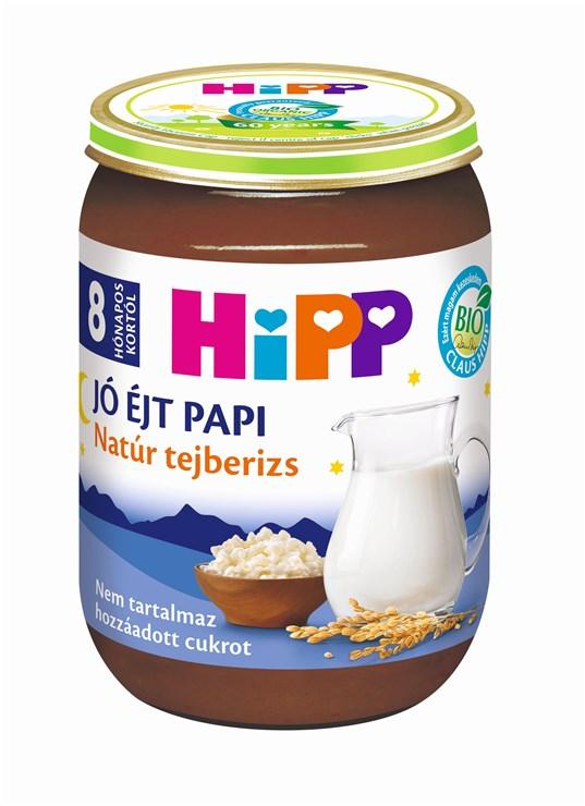 Hipp Jó éjt papi Natúr tejberizs 190g   babadesszert - Brendon - 76534