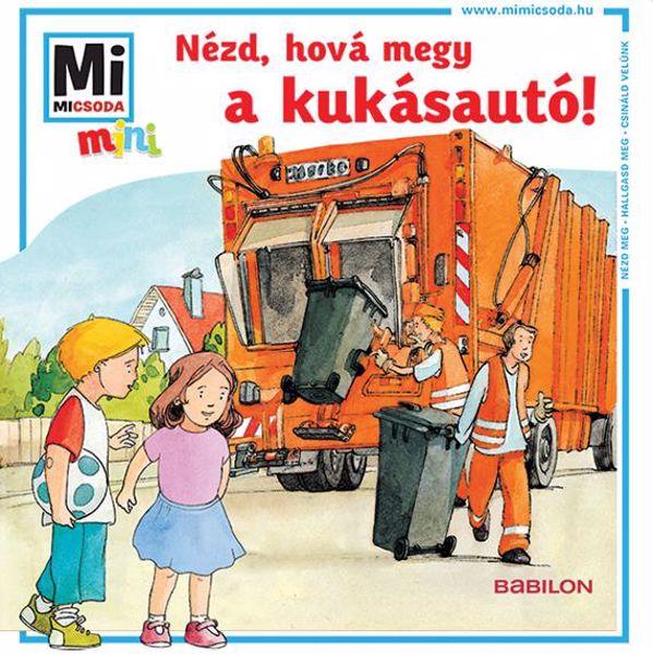Babilon Mini füzet Kukásautó  gyerekkönyv - Brendon - 76615