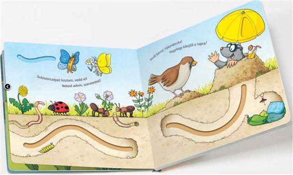 Babilon Ujjvezető lapozó - Lepke  gyermekkönyv - Brendon - 76628