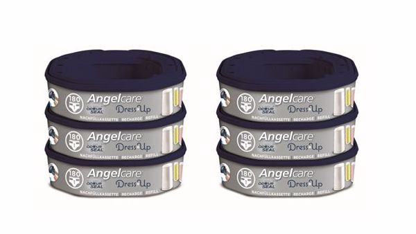Angelcare Dress-Up 6 Square  pelenkatartó vödör utántöltő - Brendon - 76818