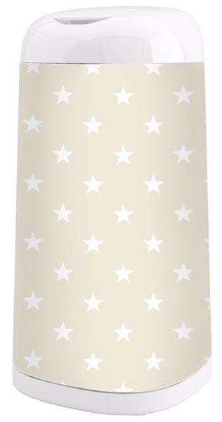 Angelcare Dress-Up +. Stars beige pelenkatartó vödör huzat - Brendon - 76828