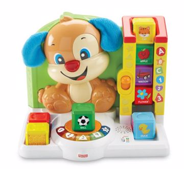 Fisher Price First Words Smart Puppy HU  zenélő játék - Brendon - 77008