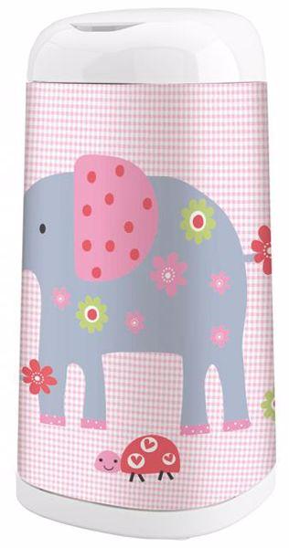 Angelcare Dress-Up +. Elephant Family poťah na vedro na plienky - Brendon - 77821