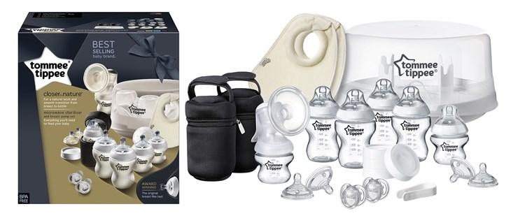 Tommee Tippee CTN NEW set  ručná odsávačka mlieka - Brendon - 77831
