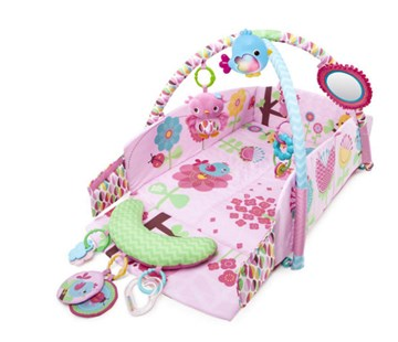 Bright Starts Sweet Songbirds Baby's Play Place Activity Gym  játszószőnyeg bébitornázóval - Brendon - 79390