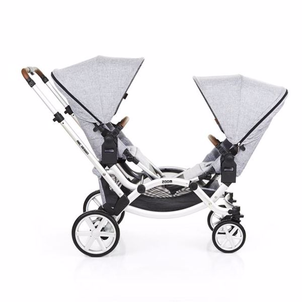 ABC Design Zoom Graphite Grey detský kočík - Brendon - 80503