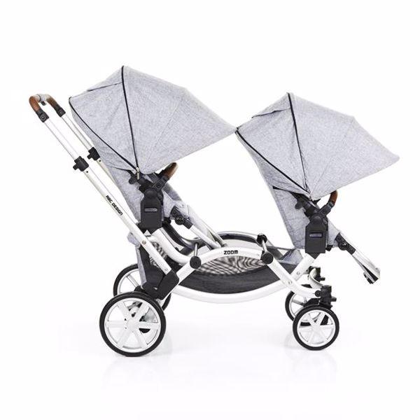 ABC Design Zoom Graphite Grey detský kočík - Brendon - 80516