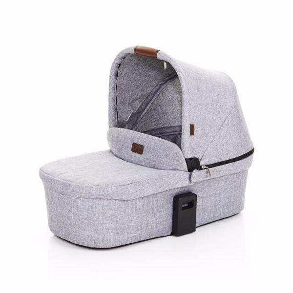 ABC Design Carrycot for Zoom, Zoom Air Graphite Grey 2018 vanička upevniteľná na konštrukciu detského kočíka - Brendon - 80630