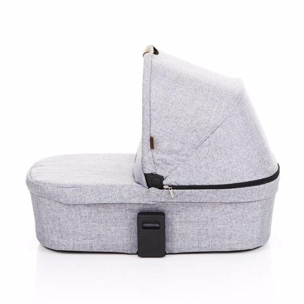 ABC Design Carrycot for Zoom, Zoom Air Graphite Grey 2018 vanička upevniteľná na konštrukciu detského kočíka - Brendon - 80631