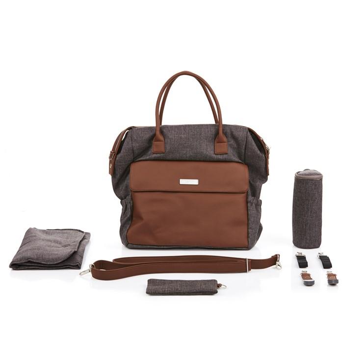 ABC Design Jetset Walnut taška na plienky - Brendon - 80704