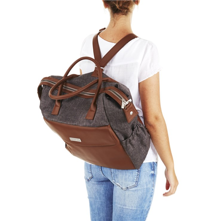 ABC Design Jetset Walnut taška na plienky - Brendon - 80708