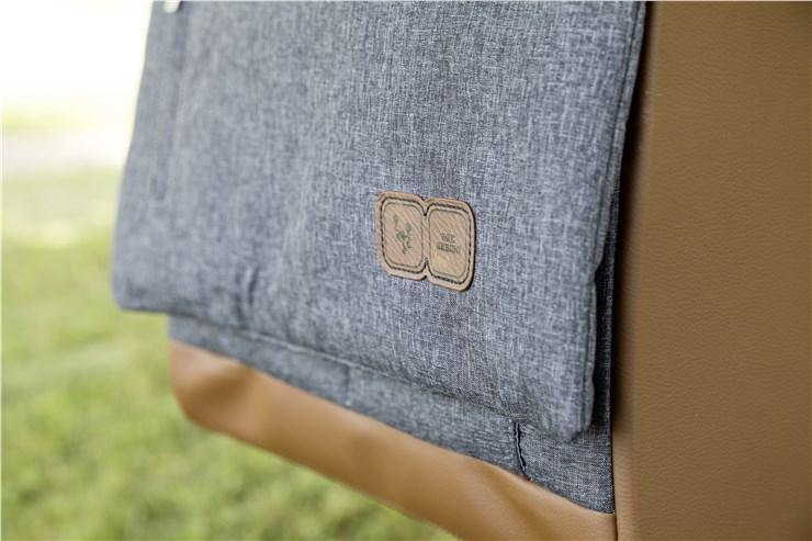 ABC Design Urban Graphite Grey taška na plienky - Brendon - 80775