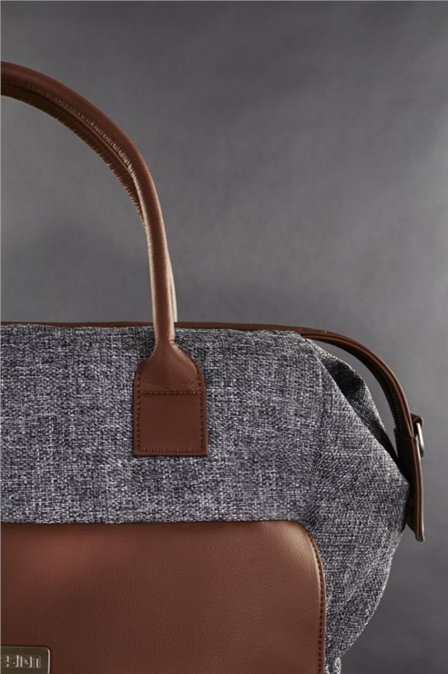 ABC Design Jetset Walnut taška na plienky - Brendon - 80792