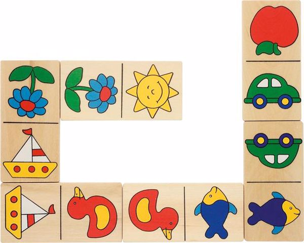 Goki Dominique's Domino in wooden box  dominó - Brendon - 82480