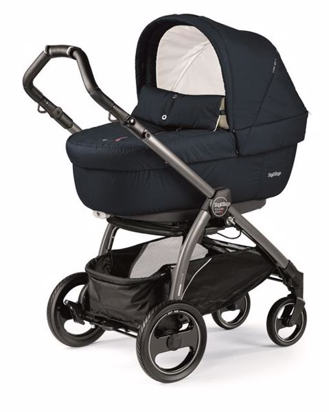 Peg Perego Book S Completo Modular Pop Up S+Elite C Breeze Blue-Jet babakocsi - Brendon - 82937