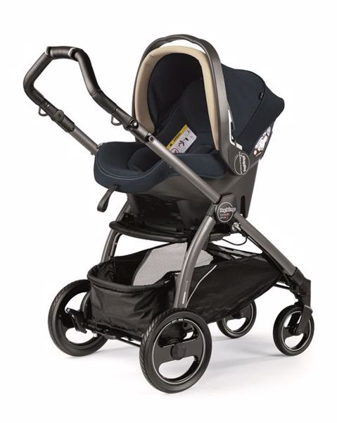 Peg Perego Book S Completo Modular Pop Up S+Elite C Breeze Blue-Jet babakocsi - Brendon - 82938