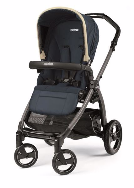 Peg Perego Book S Completo Modular Pop Up S+Elite C Breeze Blue-Jet babakocsi - Brendon - 82939